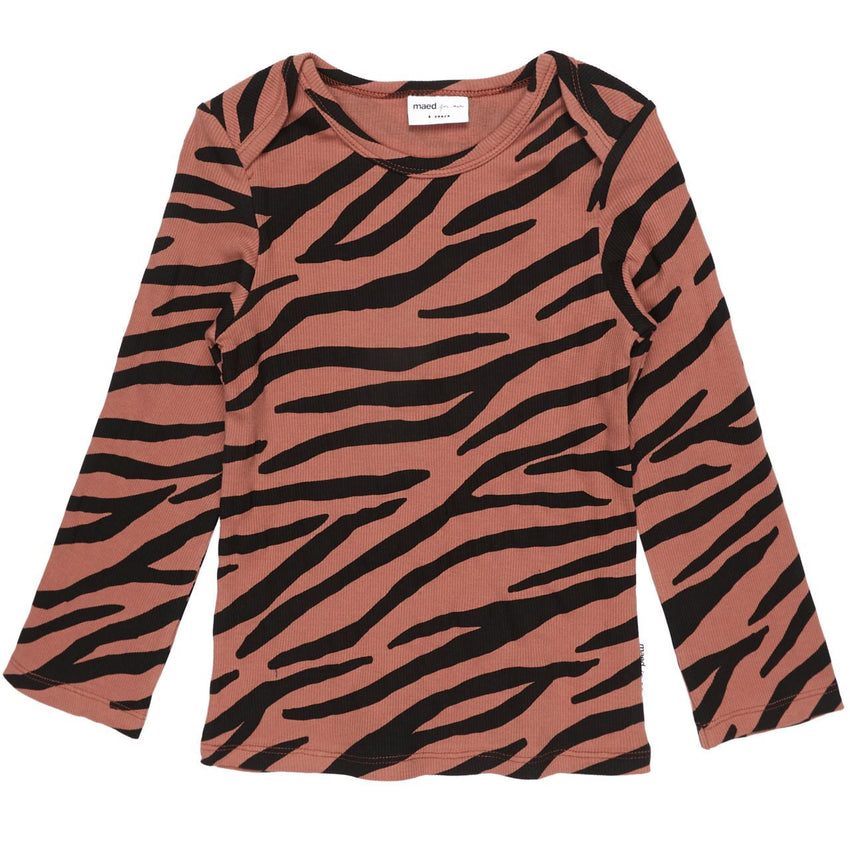 MAED FOR MINI blushing zebra long sleeve - Pulu