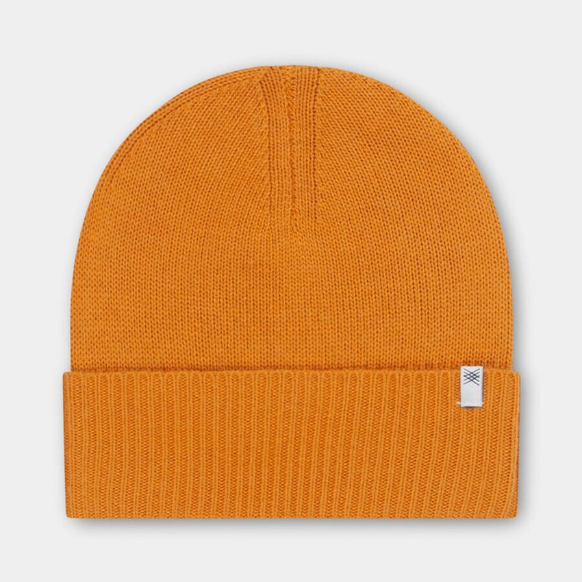 REPOSE AMS knitted hat warm yellow - Pulu
