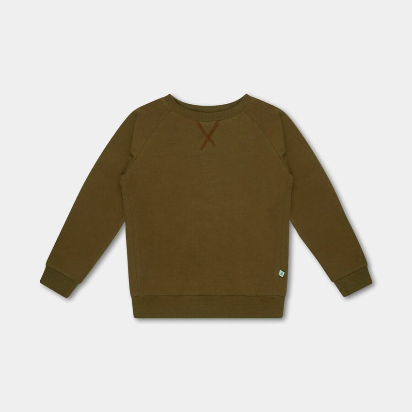 REPOSE AMS sweat tee olive