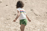 PIUPIUCHICK baby shorts green terry cotton - Pulu