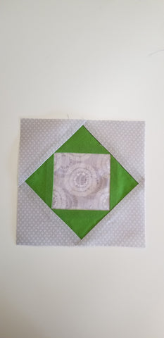 Finished green block