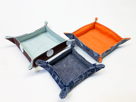 Tutorial on Fabric Catch all Trays