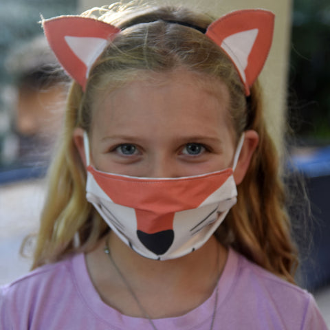 Fox Mask and ears on child