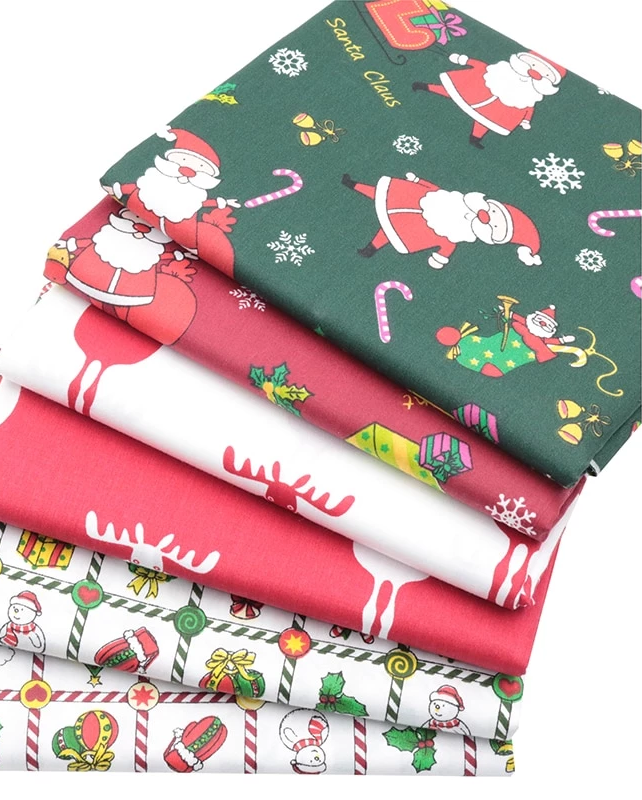 Choose your Pattern Christmas Fabrics-Sewing By Sarah
