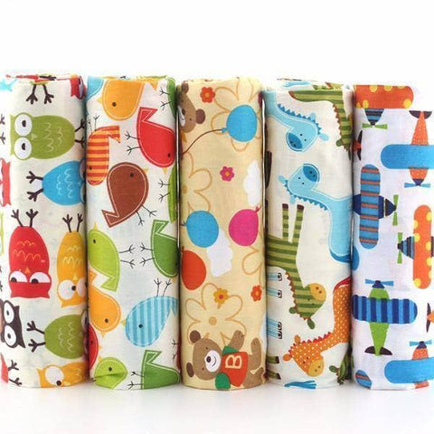 Fabric Premiums - Cartoon Print - 5 Piece Bundle