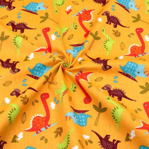 Fabric Premium-2 Pieces Dinosaur