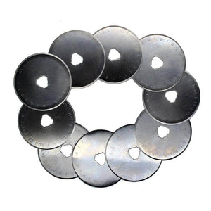 45mm Rotary Cutter Refill Blades (10 Pack) For Olfa Or Fiskars Cutter
