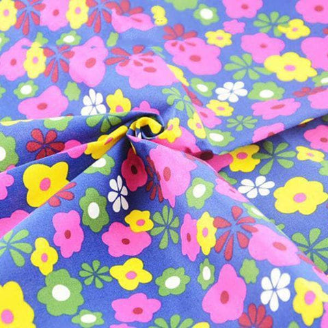Fabric Premiums - Floral Print A - 4 Piece Bundle