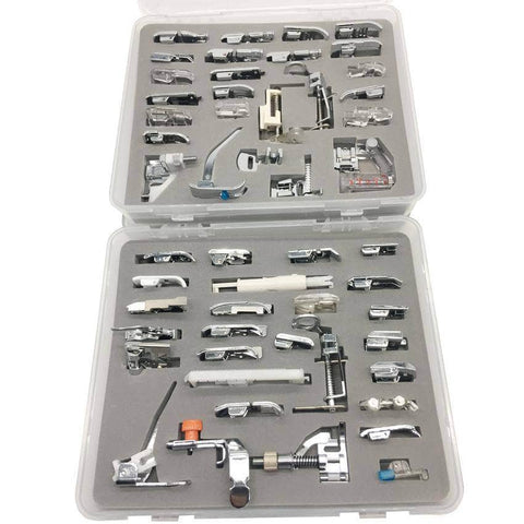 SewingbySarah™ Extended 52 Piece Presser Set - With Hard Case