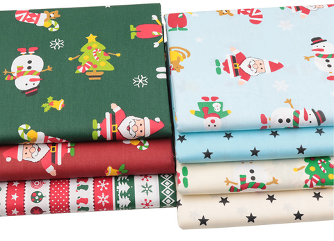 7 Piece Christmas Assortment-Sewing By Sarah