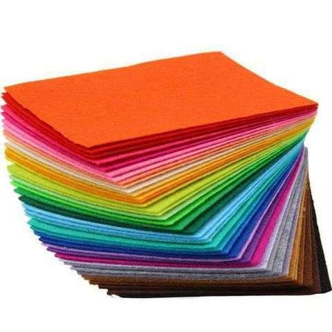 Fabric Essentials - 40 Colors Felt Fabric