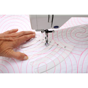 Free Motion Quilting Templates - Circles Set - 4 Pieces (With Ruler Foot)-Sewing By Sarah