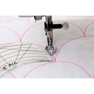 Free Motion Quilting Template 6 Piece Set