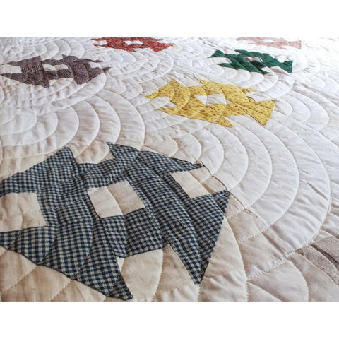 Circle Free Motion Quilting Template Example