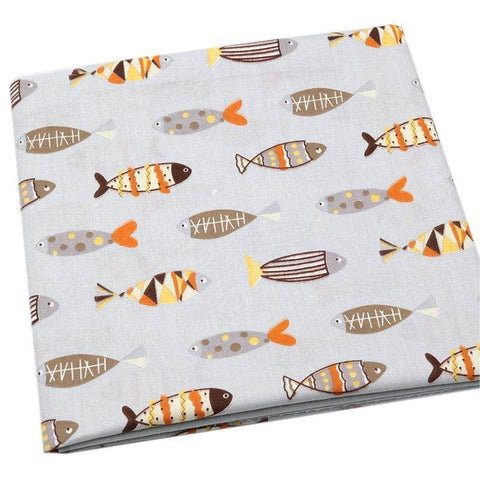 Fabric By The Yard - Fish-Sewing By Sarah