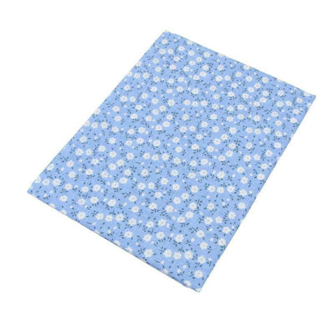 Fabric Essentials - 7 Piece Bundle Blue Cotton Set