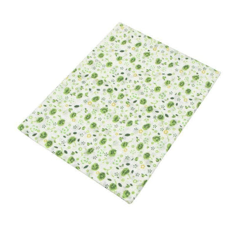 Fabric Essentials - 7 Piece Bundle Green Cotton Set