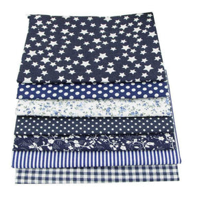 Fabric Essentials - 7 Piece Bundle Navy Cotton Set