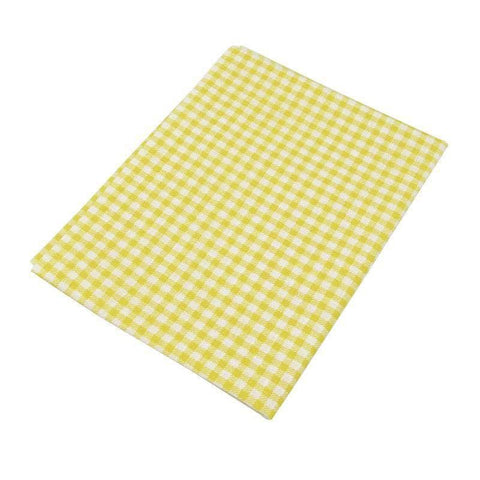 Fabric Essentials - 7 Piece Bundle Yellow Cotton Set
