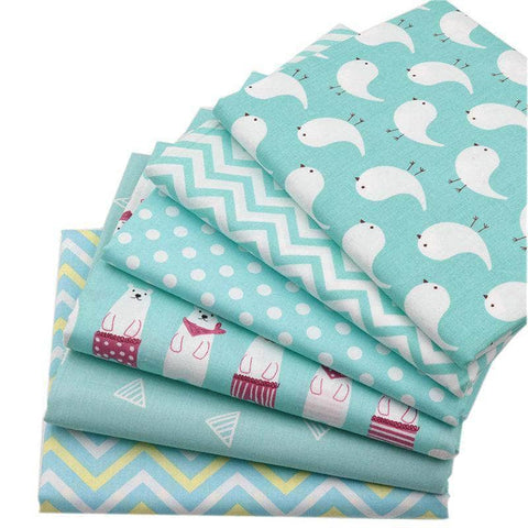 Fabric Premiums - Green Patterns - 6 Piece Bundle