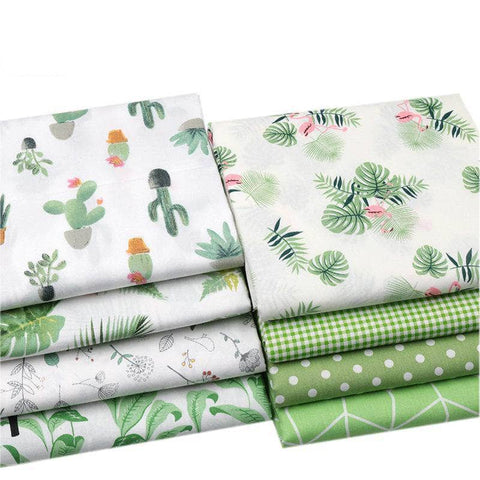 Fabric By The Yard - Green Collection-Sewing By Sarah