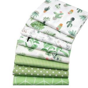 Fabric Premiums - Green Summer Cotton - 8 Piece Bundle
