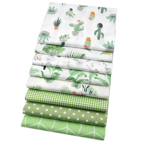 Fabric By The Yard - Green Collection