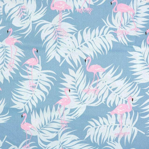 Fabric By The Yard - Flamingos