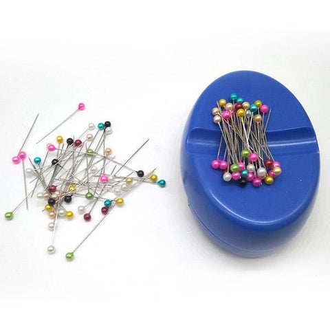 Image of Magnetic Pin Collector with Storage Unit Plus 100 Pins-Sewing By Sarah