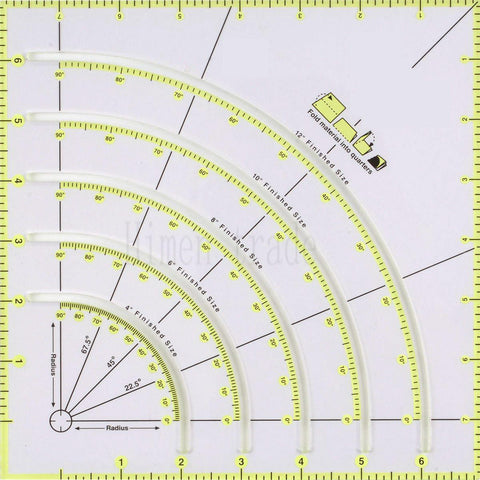 Image of Circle Ruler-Sewing By Sarah