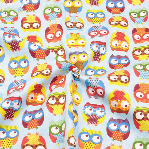 Fabric Premiums - Owl Print Cotton Fabric