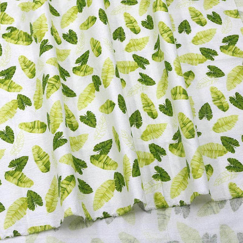 Fabric By The Yard - Palm Leaves