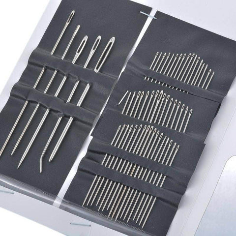 55 Stainless Steel Sewing Needles