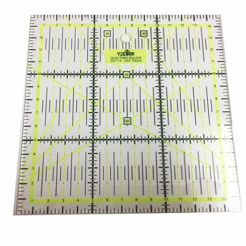 "Quilting Ruler 6"" x 6""-Sewing By Sarah"