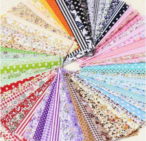 Fabric Essentials - 50 Pieces Patchwork Fabric