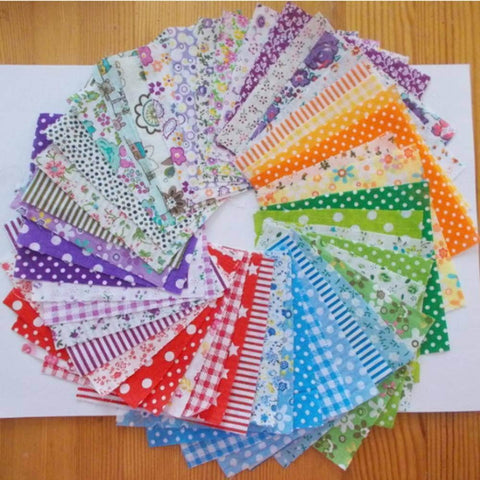 Image of Fabric Essentials - 50 Pieces Patchwork Fabric-Sewing By Sarah