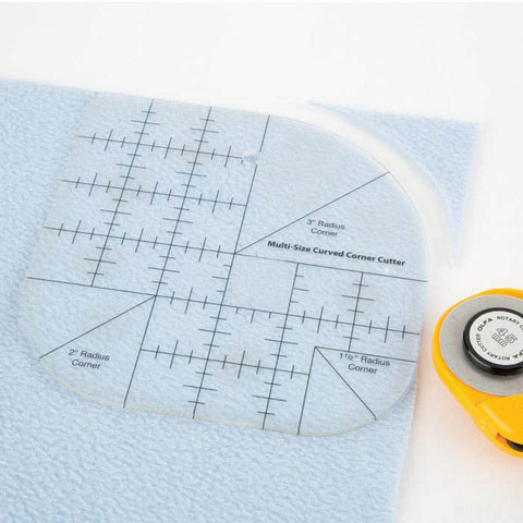 Image of Rounded Corner Double Ruler Set-Sewing By Sarah