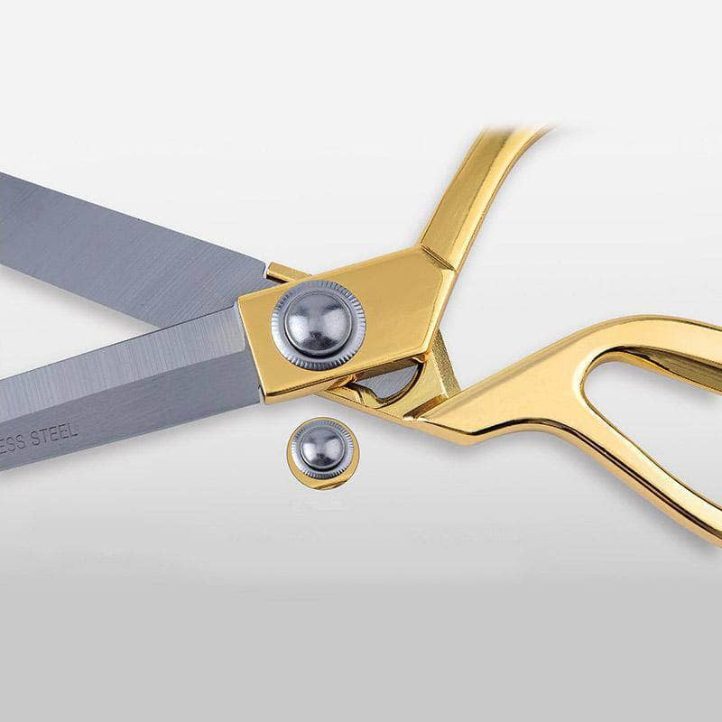 "10.5"" Gold Handle Stainless Steel Tailor Scissors"