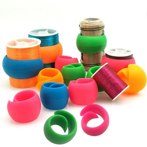 Spool Huggers - 12 Pieces-Sewing By Sarah