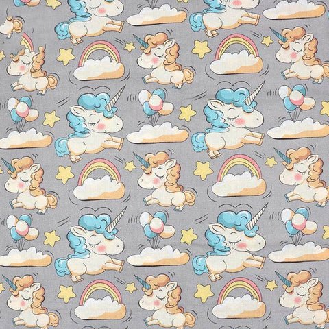 Fabric By The Yard - Unicorns