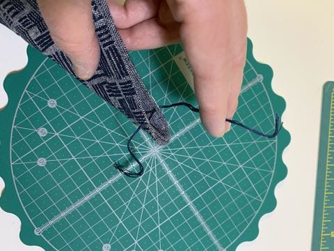 Quick and Easy Sewing Project: Catch-all Fabric Trays