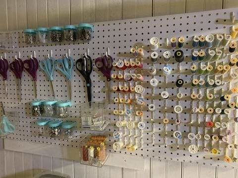 Quick Tips for Organizing Your Sewing Space
