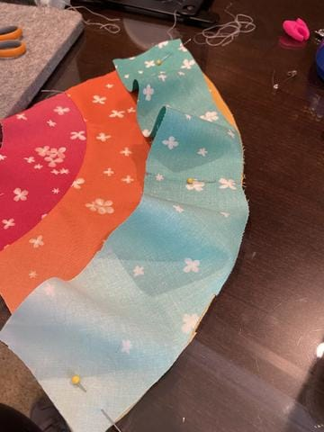 Top tips for sewing curved seams