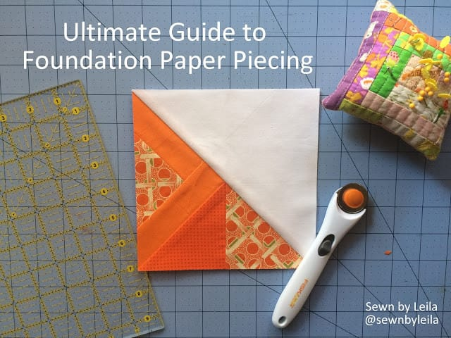 How to Foundation Paper Piece by Leila Gardunia