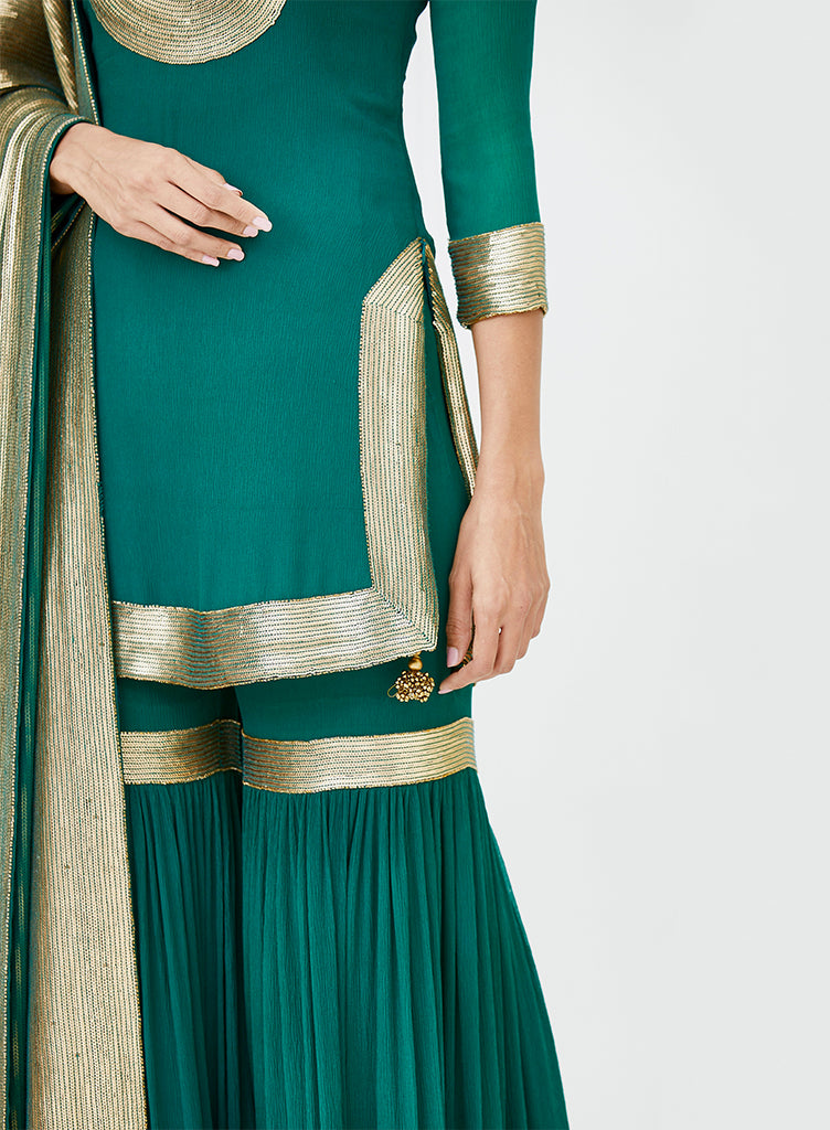 Emerald Gold Sharara - nakulsen