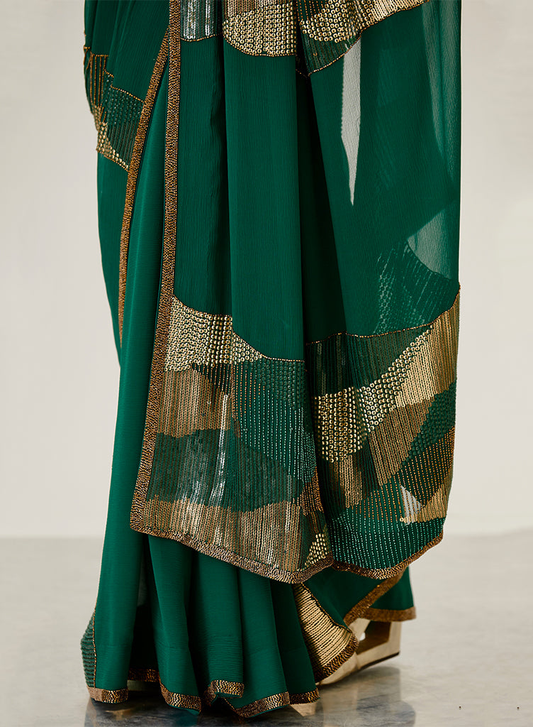 Emerald Saree - nakulsen