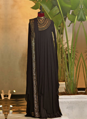 Black Kurta Set - nakulsen