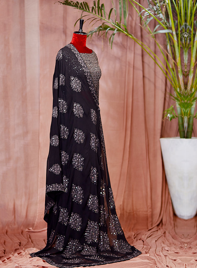 Black Saree - nakulsen