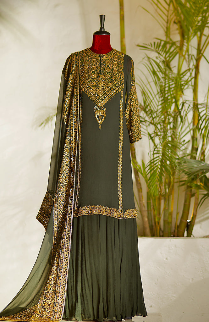Kurta With Neck Details - nakulsen