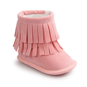 Bottes P'TITE INDIENNE - rose
